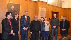 Новите попълнения в преподавателския състав на СУ бяха приветствани от ректора проф. Иван Илчев