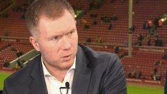 Скоулс често критикува случващото се в Юнайтед след напускането на сър Алекс Фъргюсън и засега се оказва прав в мрачните си прогнози за отбора