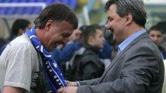 Наско Сираков нито оправда категорично, нито потвърди, че ще ходи в ЦСКА