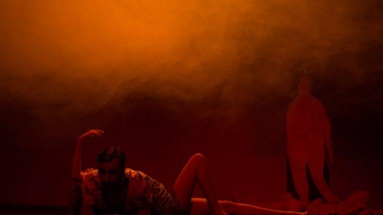 """По пиесата """"Цикадите"""" Мирослав Христов започва работа покрай конкурса за драматургичен текст на Театър 199 преди две-три години.  Снимка: Венета Паунова"""