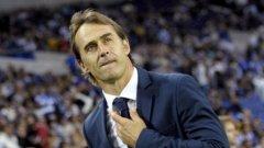 Лопетеги приключи болезнения си период начело на Реал