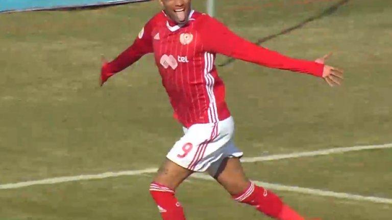 Каранга логично стана играч на мача след отбелязването на победния гол