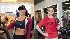 """""""Няма място за оправдания. Всеки може да намери един час на ден за спорт"""", казва Теди Кацарова (вляво), която вече усеща ползите от кампанията на Webcafe.bg."""