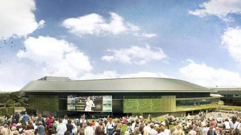 """Проектът също така предвижда подобрения в цялостната инфраструктура и монтирането на огромен телевизионен екран в близост до """"Мъри Маунт""""."""
