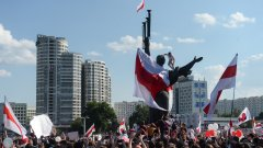 400 души са задържани на вчерашния протест в Минск