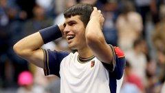 Най-младият четвъртфиналист при мъжете на US Open в оупън ерата