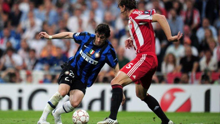 Финалът на Шампионската лига за сезон 2009/10, в който Диего Милито отбеляза и двата гола на Байерн за успеха с 2:0.