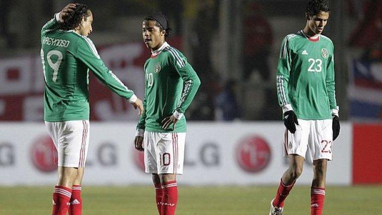 Мексиканците се чудят откъде им дошло след загубата от Чили