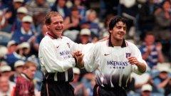 Помните ли, че Дженаро Гатузо и Пол Гаскойн играха заедно в Рейнджърс? Вижте още няколко подобни примера...