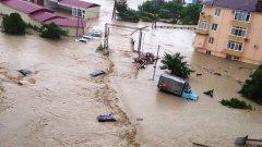Бившето олимпийско градче е под вода
