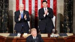 """Президентът на САЩ отгръща """"нова страница на американското величие"""""""