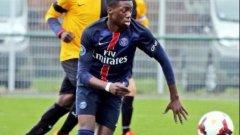 Синът на Джордж Уеа отбеляза пет гола в един мач (видео)