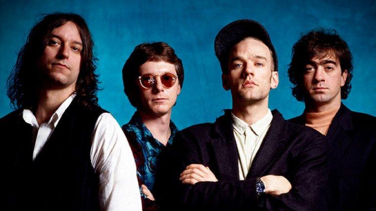R.E.M.  Тук няма някакъв непреодолим конфликт, но и няма желание за взаимна дейност. Американската група, оставила хитове като Losing My Religion, прекрати окончателно дейност през 2011 г. след три десетилетия в бизнеса. Фронтменът Майкъл Стайп напоследък напомни за себе си с една от най-хубавите песни, написани покрай коронавируса – No Time for Love Like Now. Той обаче продължава да е на позицията, че R.E.M. няма да се възобновява.