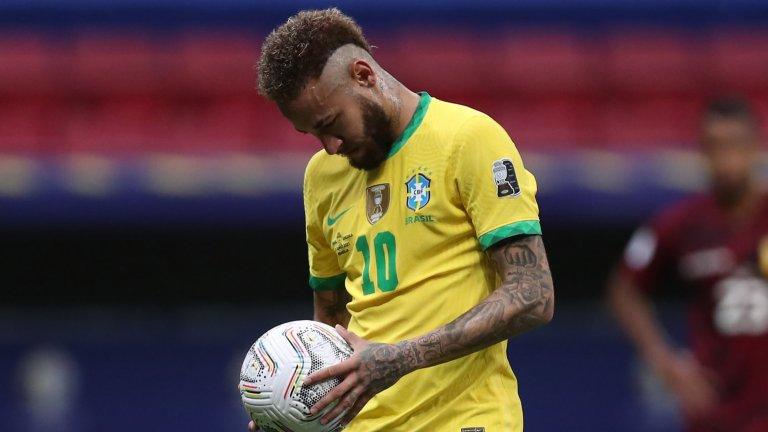 Неймар изравни рекорд на Пеле, Бразилия показа мощ на старта на Копа Америка (видео)