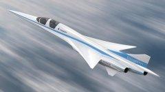 """XB-1 ще се казва """"Baby Boom"""" и се очаква да бъде най-бързият самолет от гражданската авиация. Първият полет ще бъде през 2023 година."""