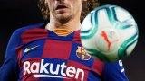Гризман не успява да покаже най-доброто от себе си в Барселона.