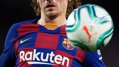 Началото беше силно за Барселона и Гризман бързо откри резултата, но без Меси проблемите в играта пак започнаха да си личат