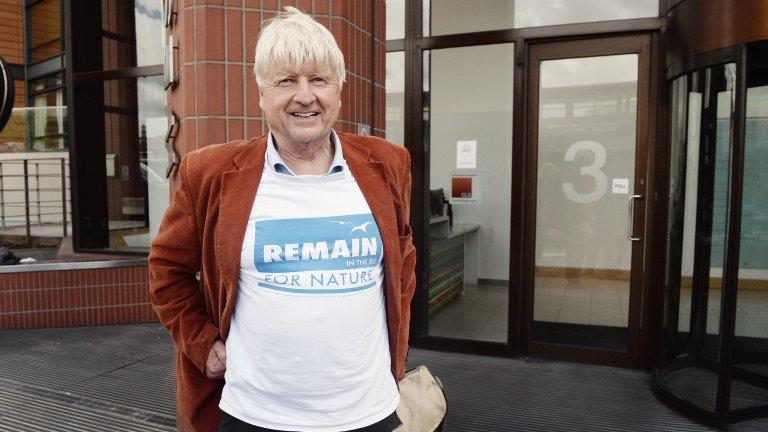 След окончателното излизане на Великобритания от ЕС Стенли Джонсън поиска да бъде френски гражданин