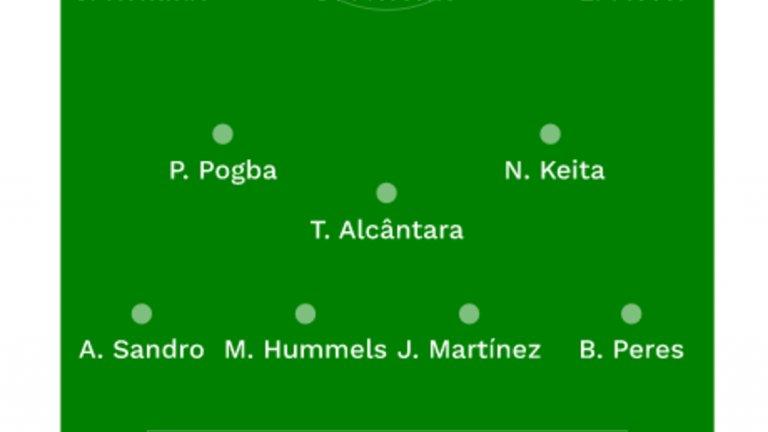 Идеалният отбор за сезон 2016/17 според световната футболна обсерватория в схема 4-3-3