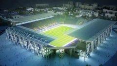 Така ще изглежда новият стадион на Левски