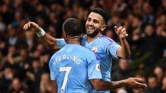 Марез не беше играл в последните мачове на Сити, но днес се включи много силно и отбеляза победния гол