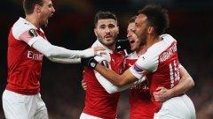 Арсенал направи доста пропуски, но все пак си осигури стабилен аванс преди реванша