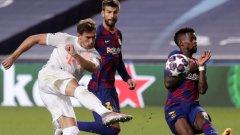 Байерн и Барселона отново ще играят помежду си след онзи разтърсващ разгром на баварците с 8:2 през миналата година
