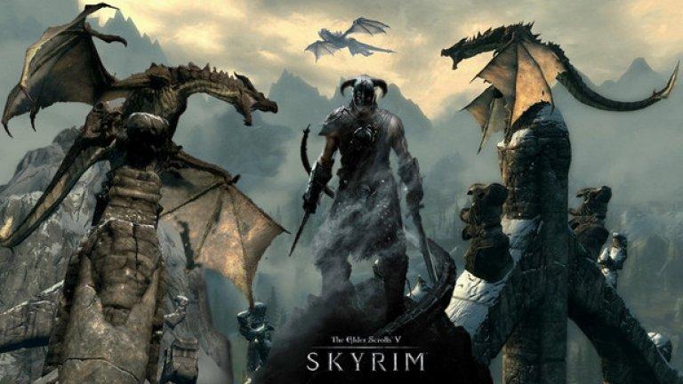 The Elder Scrolls V: Skyrim  11.11.11 - феновете добре помнят тази дата, посочена още в премиерния трейлър на The Elder Scrolls V: Skyrim. Шедьовър в пълния смисъл на думата, Skyrim те хваща за ръка и те отнася в един неустоим фентъзи свят на безгранични приключения. Да, играта няма нито най-добрата история, нито най-привлекателната бойна система, създавана някога. Но нещо в нейния свят те кара да се връщаш отново и отново, да прекарваш часове сред тучните есенни поляни и високите и заснежени планински хребети на Скайрим. Добавете към това няколко солидни пакета с адски много допълнително съдържание (Dawnguard, Hearthfire и Dragonborn), десетки полезни и шантави модове от запалената общност, версии за виртуална реалност и портове за половин дузина платформи чак до Switch, и получавате рецепта за дълготраен успех.