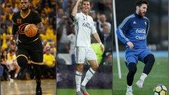 Кристиано Роналдо отново е най-високоплатеният спортист в света, изпреварвайки Леброн Джеймс и Лео Меси