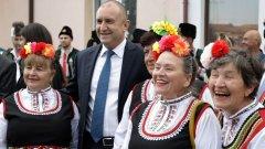 На празника в Пловдив присъства държавният глава Румен Радев