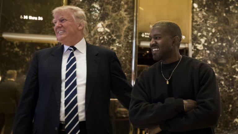"""Кание Уест посещава Белия дом (2018)  Когато един от най-популярните рап изпълнители в САЩ пристига при президента Доналд Тръмп, това е среща, която се излъчва на живо и се отразява в целия свят. Рапърът и продуцент е привърженик на Тръмп. В Белия дом той носи червена шапка с лозунга """"Да направим Америка велика отново"""" и казва, че """"когато я сложи се чувства като Супермен"""". Е, някои наричат посещението егоистичен ексцентризъм и нелепо усещане за облекло, но признават, че то вероятно ще остане в историята."""