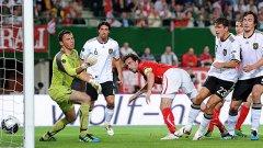Марио Гомес вкара и двата гола във вратата на австрийците