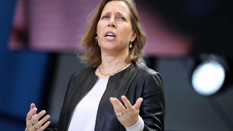 Сюзън Войчицки  Настояща длъжност: Изпълнителен директор на YouTube (подразделение на Google)  Войцички вече e обмисляла дали да се кандидатира за оперативен директор на Uber. Възможността да стане изпълнителен директор на компанията за споделени превози изглежда много по-привлекателна, отколкото да продължи да бъде дългогодишен ръководител в Google.  Войчицки ръководи придобиването на YouTube от Google през 2006 г., а през 2014 г. стана изпълнителен директор на платформата за видео споделяне.