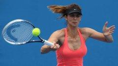 Цветана Пиронкова регистрира пета поредна загуба през сезона и отпадна на старта на China Open след 3-6 3-6 от Мариана Дуке-Мариньо.