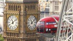Цените на имотите в Лондон традиционни са високи, а британският пазар изпита най-леко спада на цените на недвижимостите