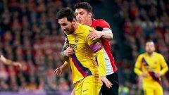 Тежката седмица на Меси и Барселона продължи с отпадане от Купата на Испания