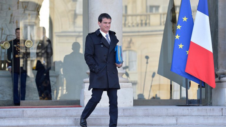 Млад мъж удари бившия френски премиер по брадичката
