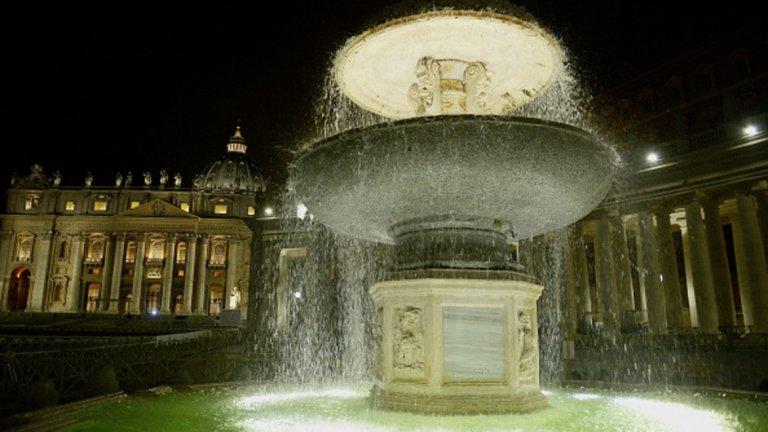 Ватиканът спира всички фонтани на територията си, за да пести вода