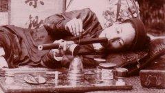 Пушач на опиум във Виетнам, края на 19 век.  Вижте галерията
