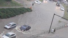 Варна е наводнена след проливен дъжд