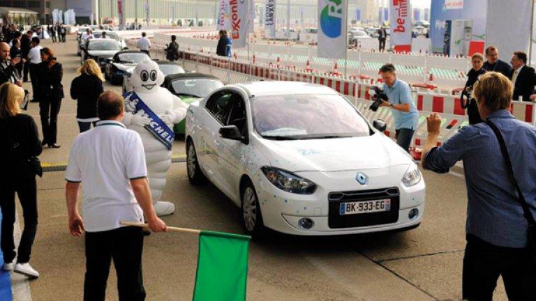 Електромобилите също участват в състезания