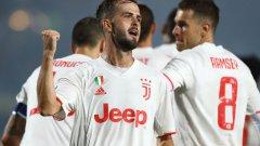 Пянич вкара победния гол, който поне временно върна Ювентус на първо място в Серия А