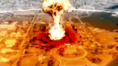 """На фона на бодра музика, на американците им се дава """"последен шанс"""", a Вашингтон е наказан с атомна бомба"""