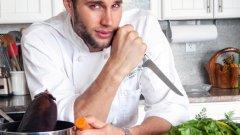 Франко Нориега смята, че да дефилираш е повърхностно, затова се насочва към кухнята