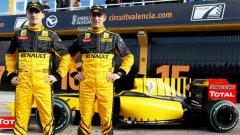Петров спечели второто място в Renault, след като завърши втори в сериите GP2 през миналата година, а при обявяването му като съотборник на Роберт Кубица веднага тръгнаха слухове, че спонсорите му плащат, за да кара той във Формула 1