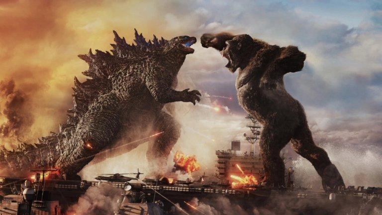 """""""Годзила срещу Конг"""" Къде: кината Кога: 26 март  Време е за битка на гигантски чудовища. Филмът е продължение както на """"Годзила: Кралят на чудовищата"""", така и на """"Конг: Островът на черепа"""". От първия трейлър вече знаем, че поради някаква причина Годзила е """"лошият"""" и напада хора по света. Когато застрашава дете, към което Конг е привързан обаче, зрелищният сблъсък между двата звяра е неизбежен. А междувременно се мъти и човешка конспирация, чиято цел е всички титани като тях да бъдат премахнати."""