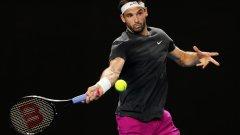 Страхотен Григор не даде сет на бивш шампион от US Open