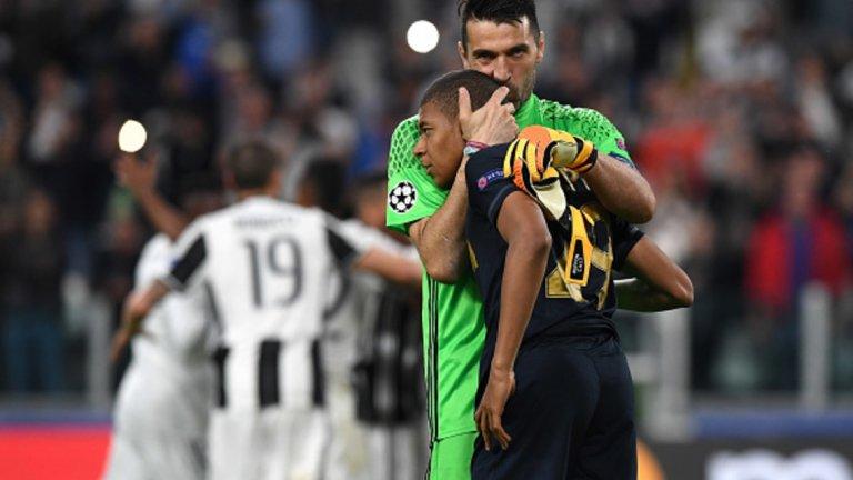 Приятелството между Джанлуиджи Буфон и Килиан Мбапе е едно от най-необикновените в съвременния футбол