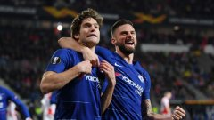 Челси стигна до победата в Прага без да покаже кой знае каква игра