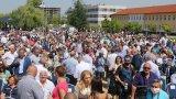 Около 4000 активисти се събраха на открито, очаква се и премиерът Борисов да изнесе реч